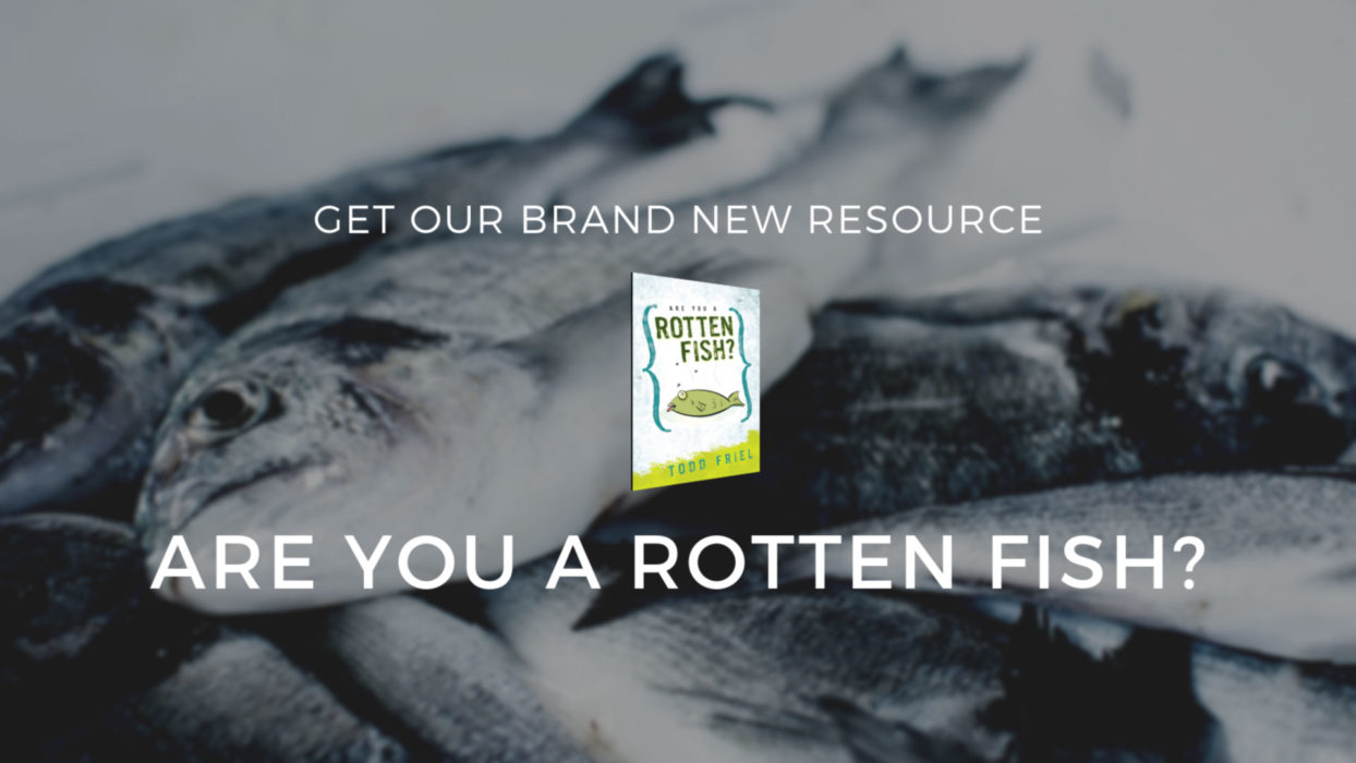 Are You a Rotten Fish? Banner