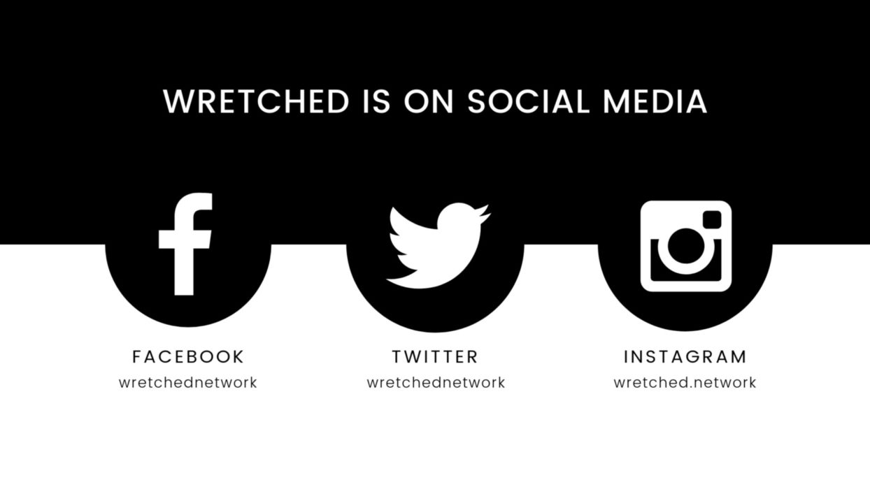 Wretched Social Banner